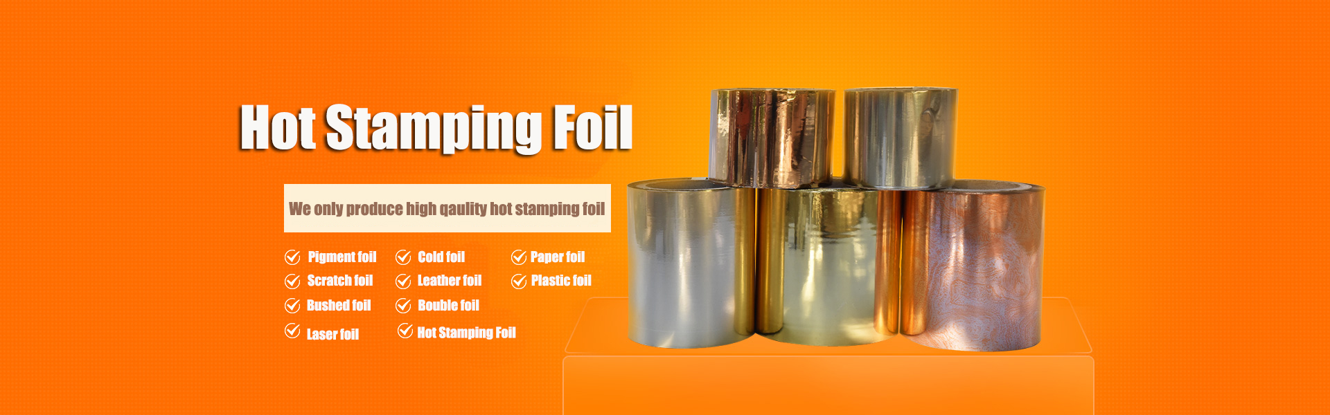 Hot Stamping Foil
